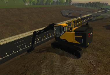 Volvo EC300E Long Reach v1