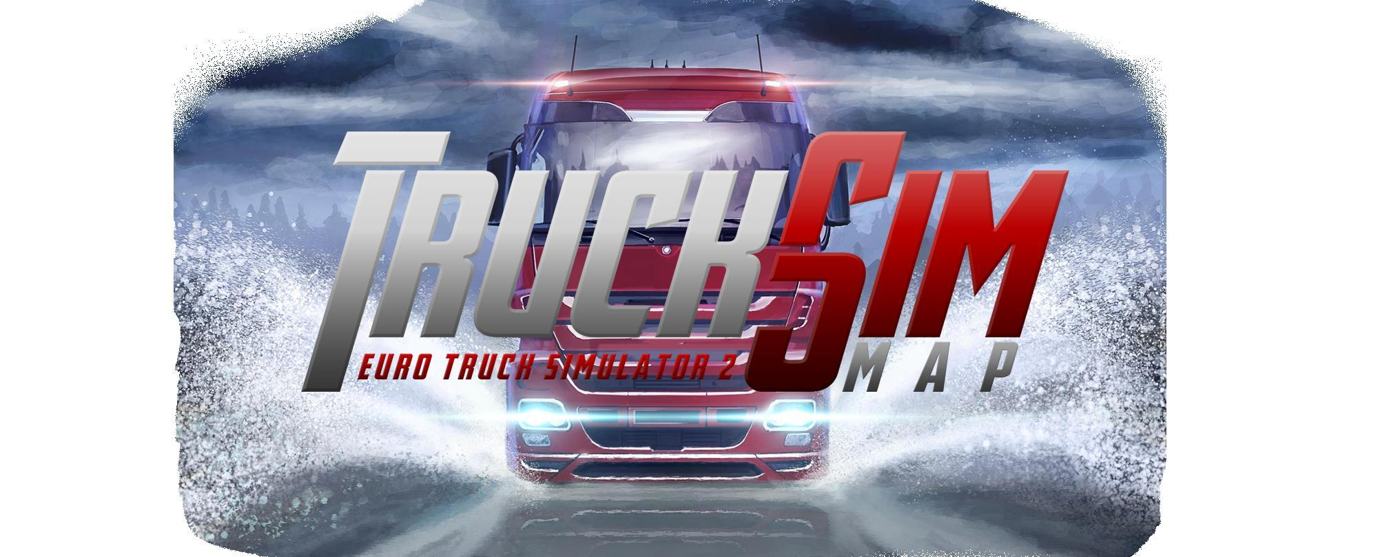 Truck Sim Map 6.4 for 1.25