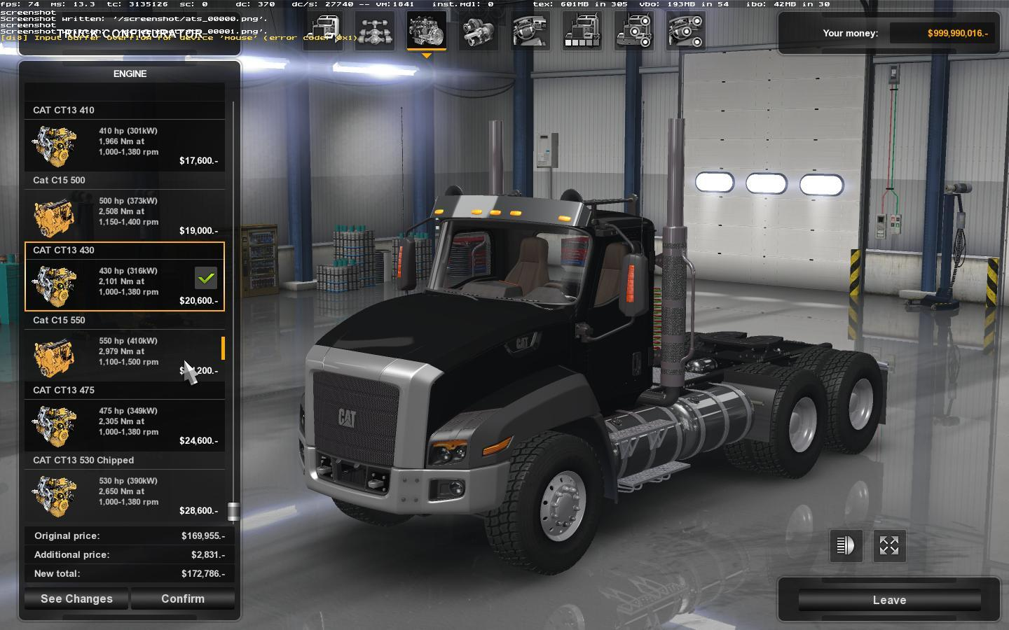 CAT CT660 for ATS 1.1