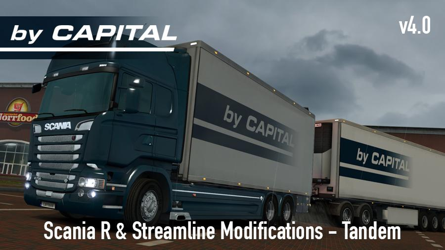 Scania R & S by RJL Tandem – By Capital