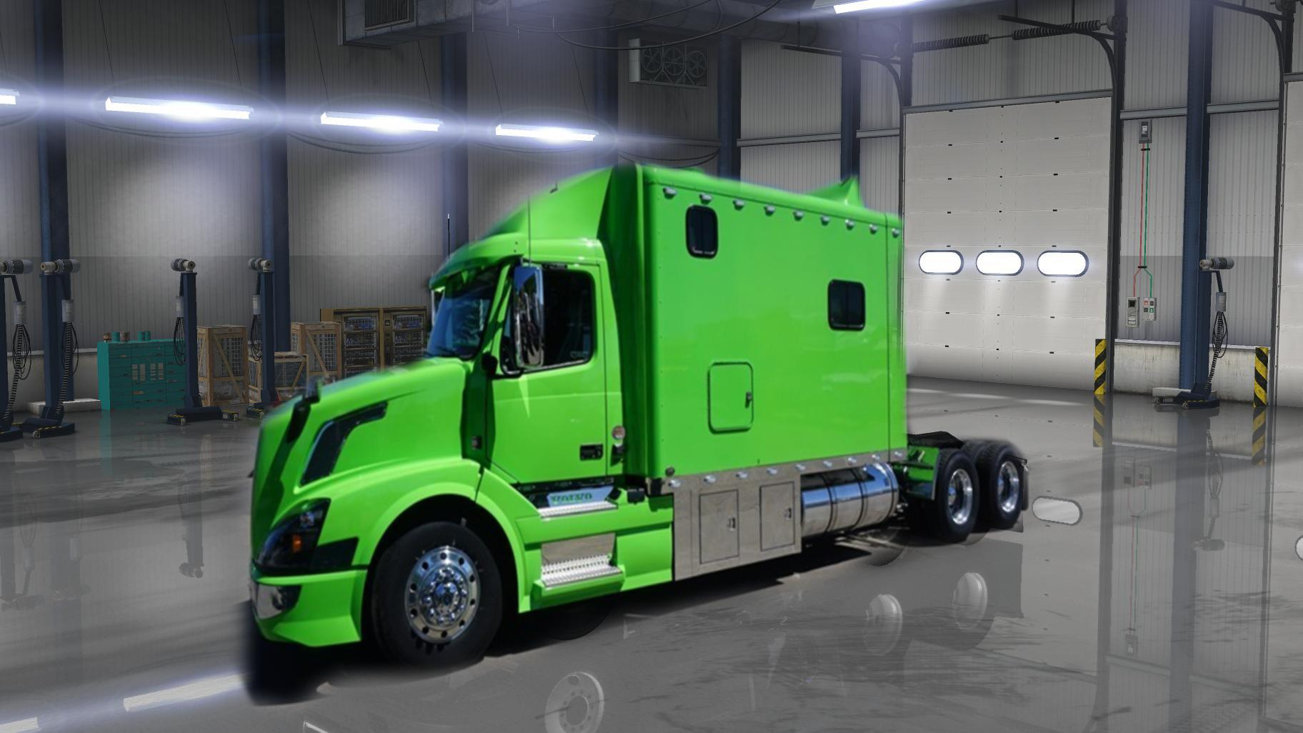 VOLVO VNL670 LAGCY SLEEPER BY ARADETH FOR ATS V1.4