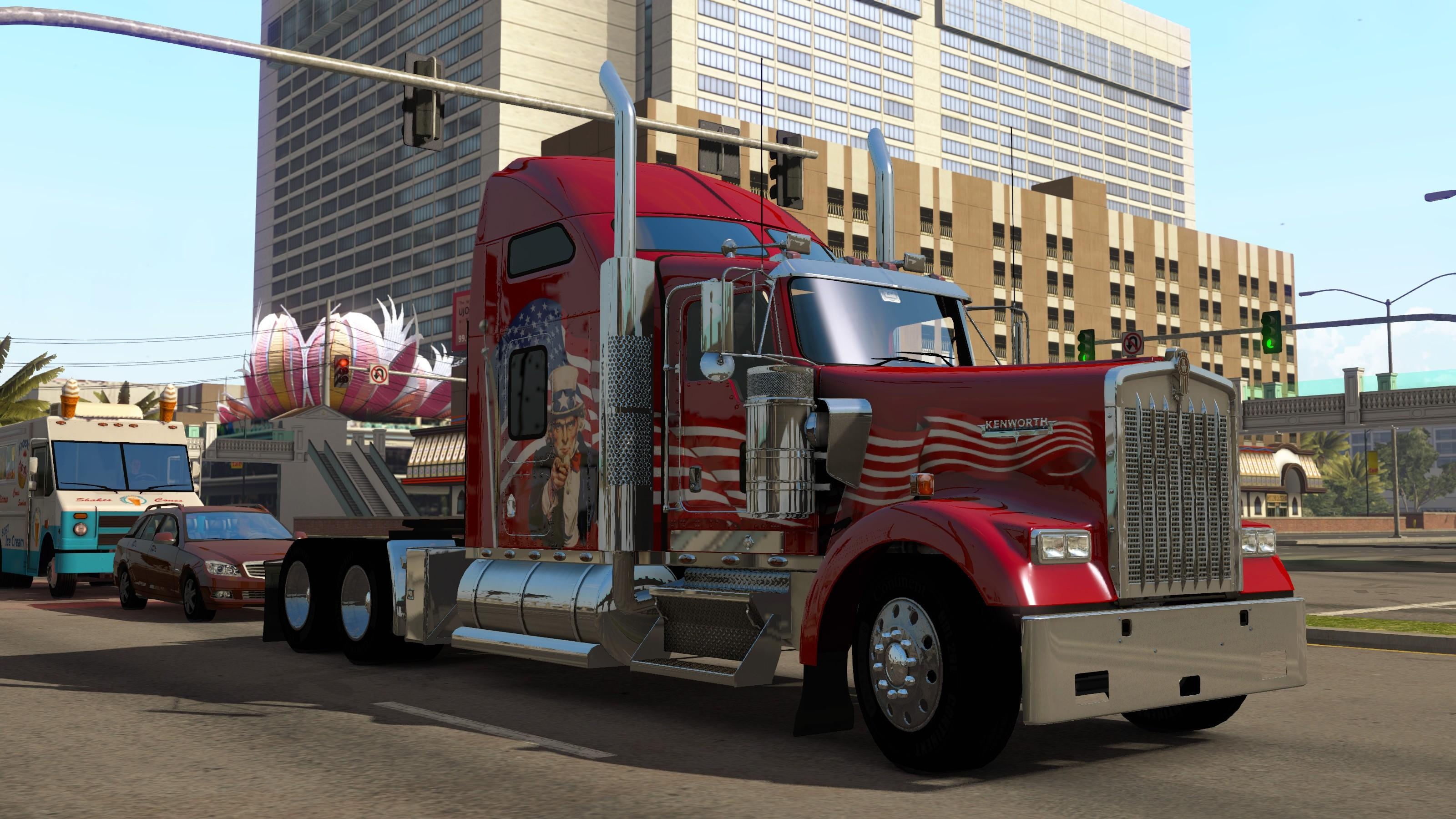 ATS TRUCK PACK for ETS2 & V1.25
