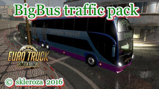 Big Bus Traffic Pack v 1.5.1