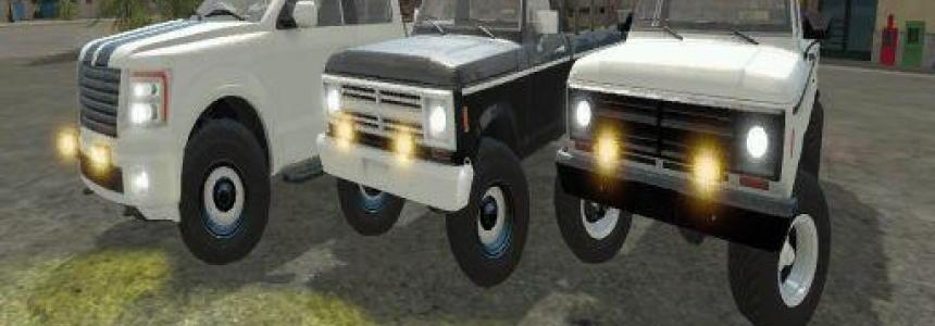 FS17 Lizard Truck Pack Crowmodding v1