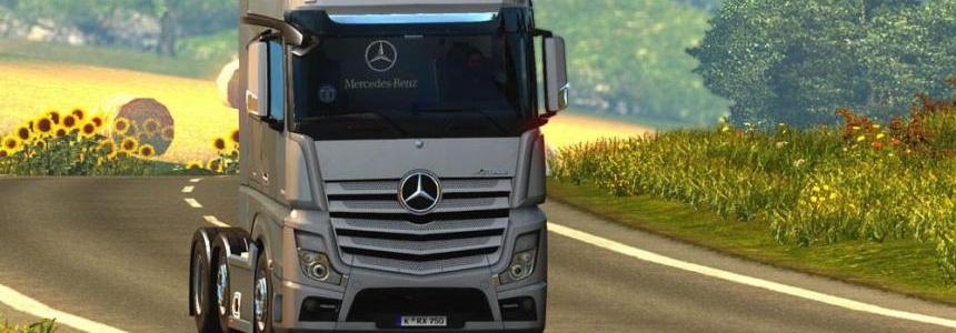 Mercedes Benz Actros 2014i Roadstars