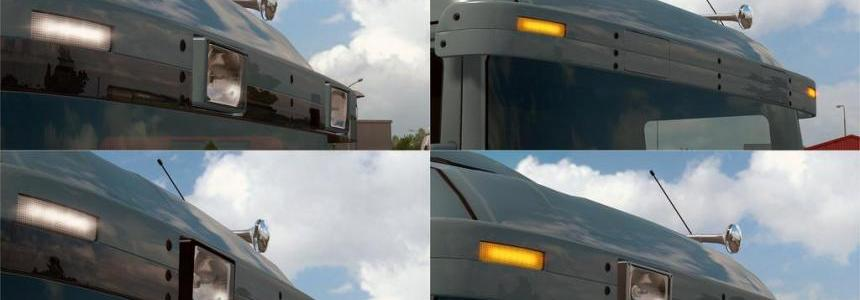 Abasstreppas 4-series/R1 old type sunshield for RJL Scanias