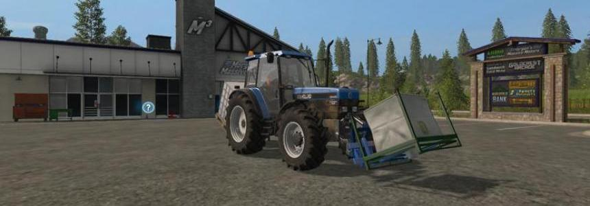 Adaptor frame implement frontloader v1.0
