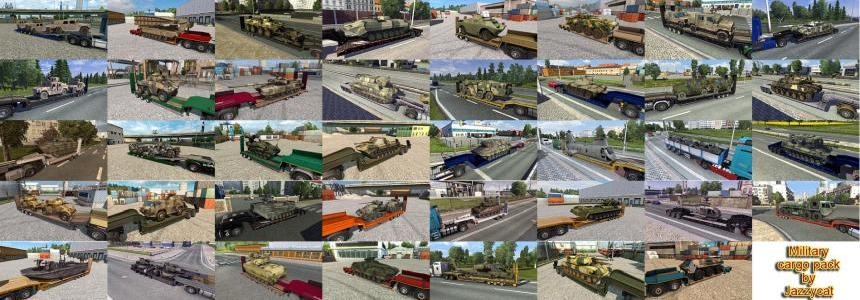 Addons for the Military Cargo Packs v1.9 from Jazzycat