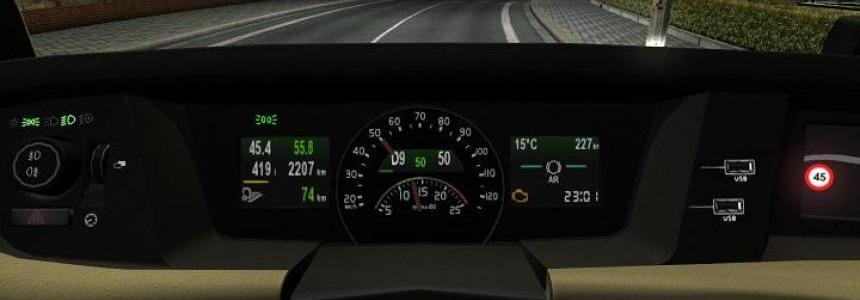 All In One Volvo FH16 2012 (2013) Dashboard computer