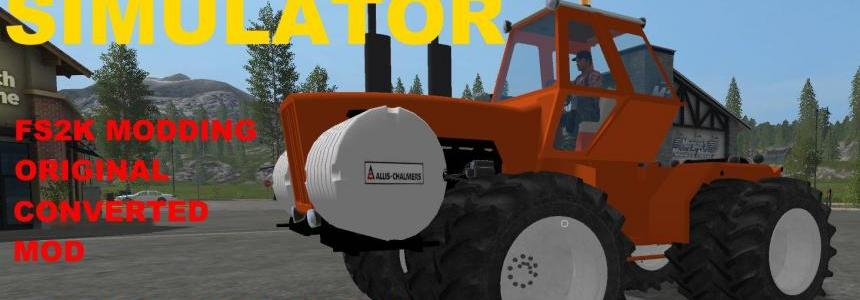Allis Chalmers 8550 FS2k Modding v1