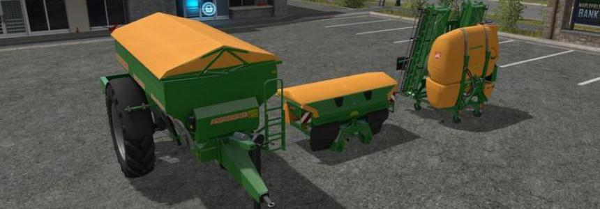Amazone fertilizer sprayer Modpack v1.0 altes Orange