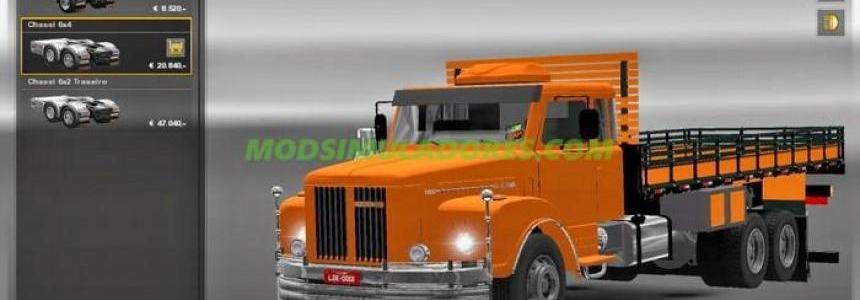Caminhão Scania 111S v1.0 1.25.x