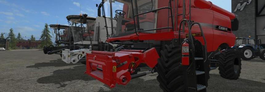 CaseIH Combine and Cutter pack by Stevie