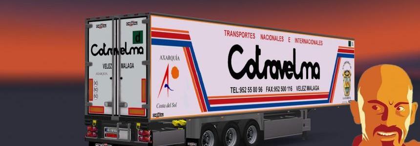 Chereau Spanish Standalone Trailer 1.24.x - 1.25.x