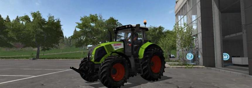 Claas Axion 820 FS17 v1.0