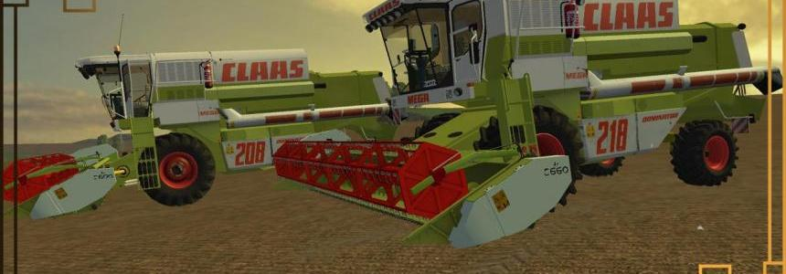 Claas Dominator 208 & 218 v1.0