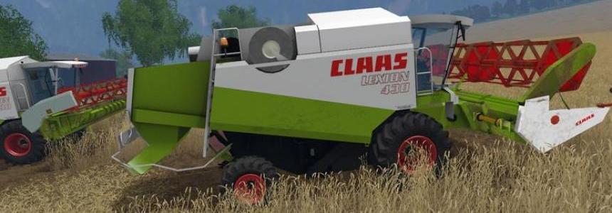 Claas Lexion 430/460 Pack v1.3