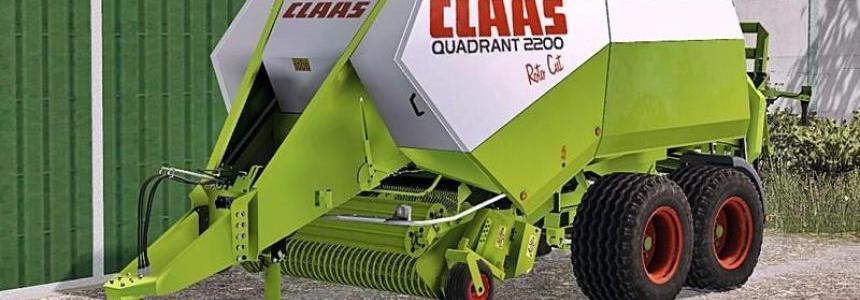 Claas Quadrant 2200 Roto Cut v1.0 Waschbar