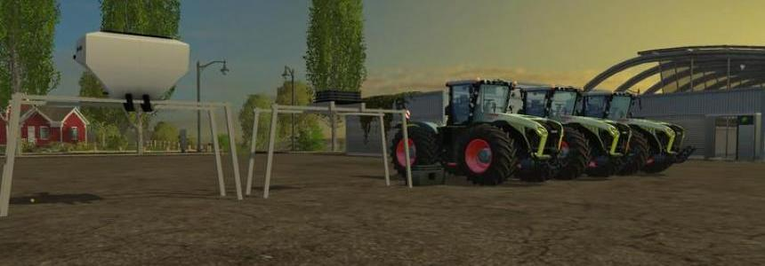 Claas Xerion 4000, 4500, 5000 v1.0