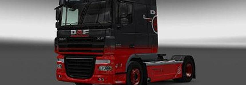 DAF XF Grey/Red Skin 1.25