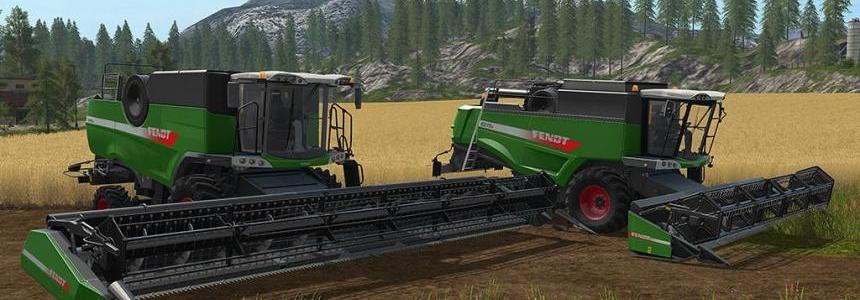 Fendt Harvester Pack v1.0
