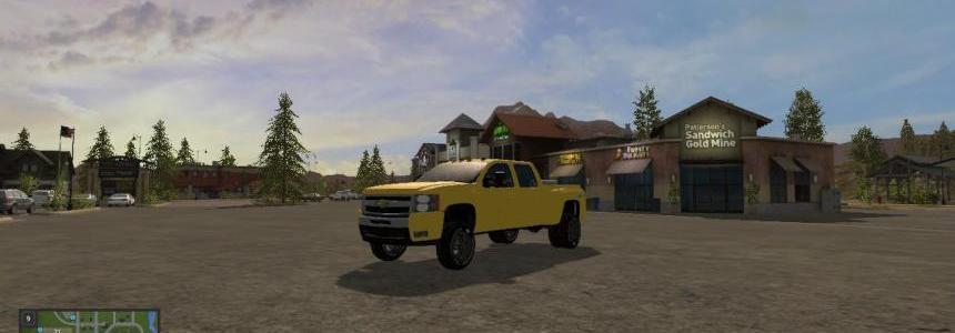 FS17 Chevy 3500 HD Converted