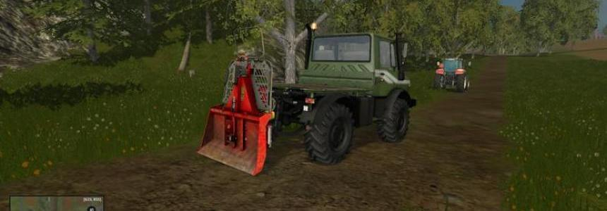 Functional forestry winch - krpan winch (beta) v2.0 Beta