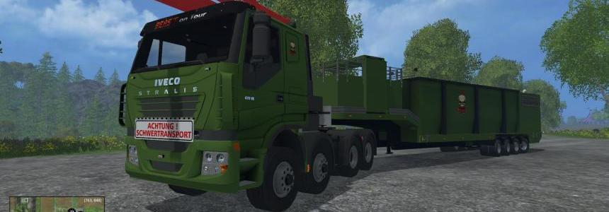 Iveco stralis wood chippers v1.1