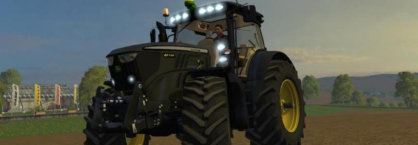 John Deere 6210R Black Edition