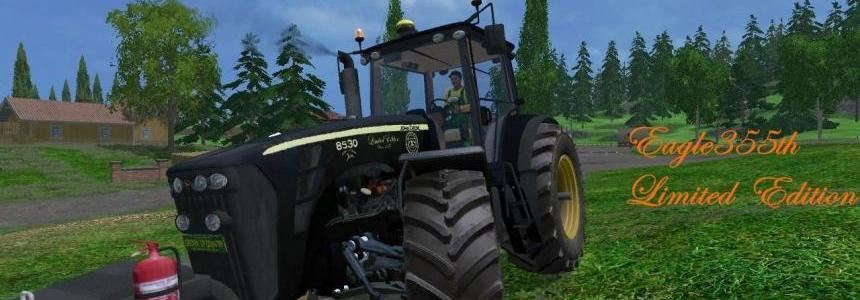 John Deere 8530 V3 Black Limited Edition By Eagle355th
