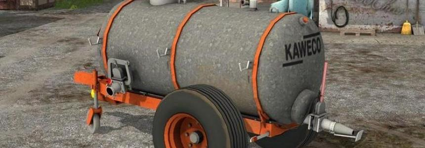 Kaweco 6000 liter manure tank v1