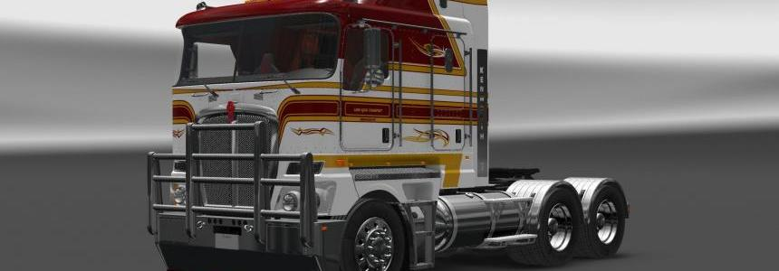 Kenworth K200 v13 for 1.24, 1.25