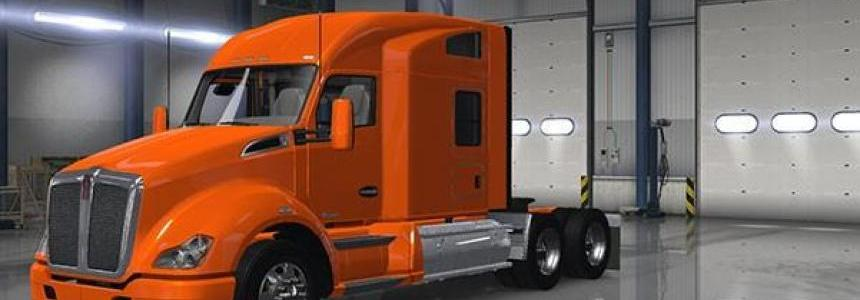 Kenworth T680 modular and Cab c low