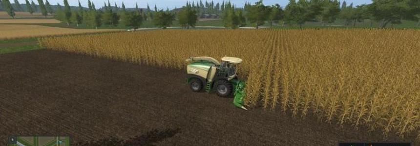 Krone Big X 580 with bunker v1.0