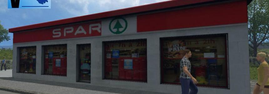 Magasin Spar v1.0