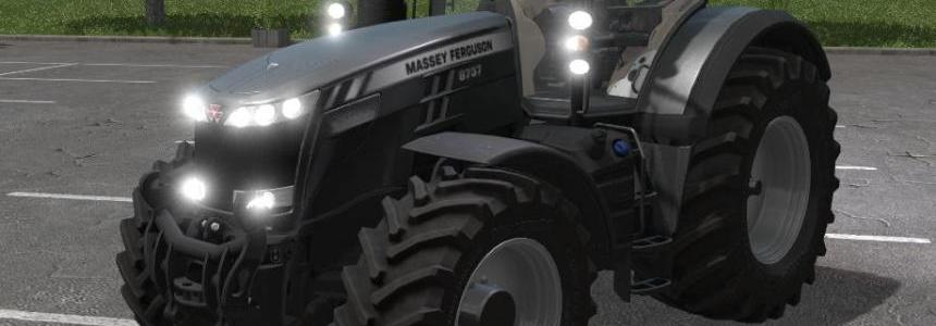 Massey Ferguson 8737 Black Edition v1