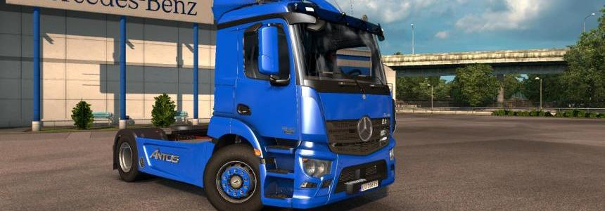 Mercedes Antos 1840 for 1.25/1.24/1.23