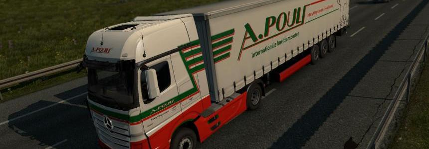 Mersedes Benz New Actros A.Pouls skin 1.25