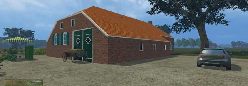 North German houses with 3 farms v1.0