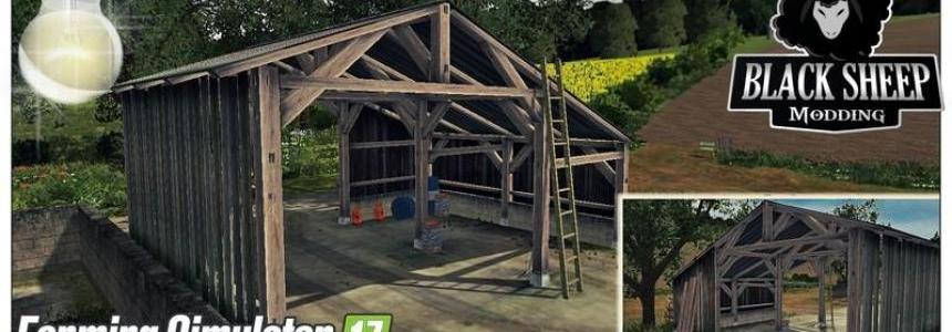 Old Shed With Light placeable v1.0