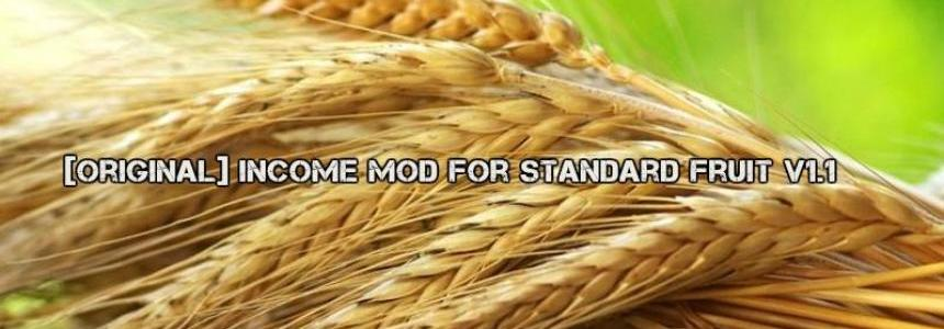 [Original] Income Mod for Standard Fruit v1.1