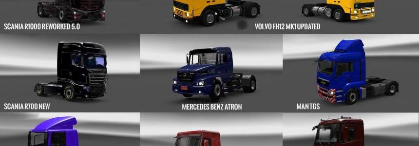 Pack 3 compt. Trucks of Powerful Engines Pack + Transmissions v6.0