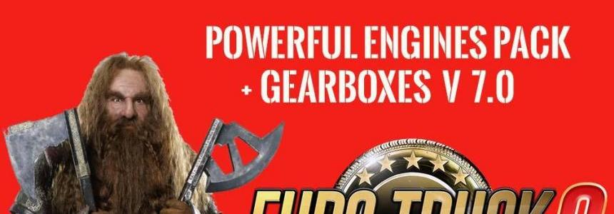 Pack Powerful engines + gearboxes v7.0