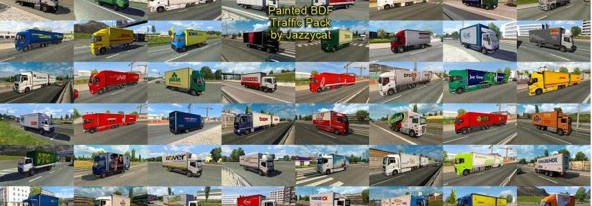 Painted BDF Traffic Pack by Jazzycat  v1.3
