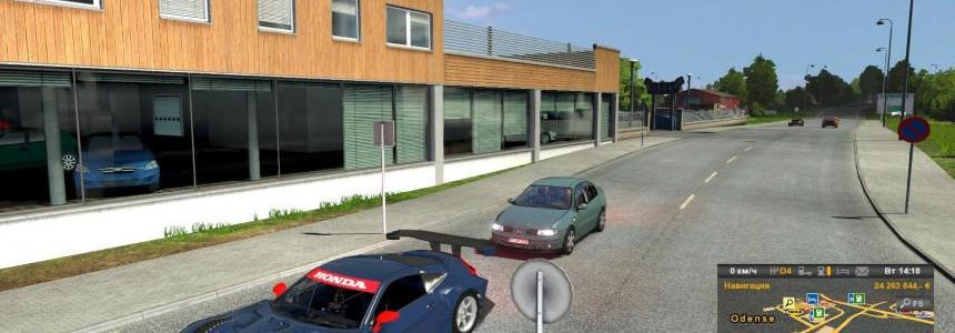 Race Team Manager Traffic Pack (1.24, 1.25)