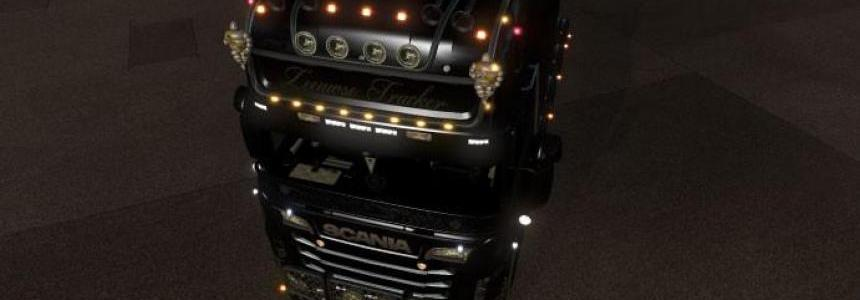 Roofgrill and Cab Parts Scania RJL ZT