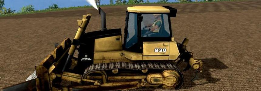 Rotech 830 Bulldozer v1.0