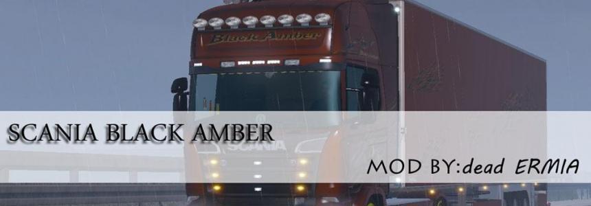 Scania Black Amber v1.0