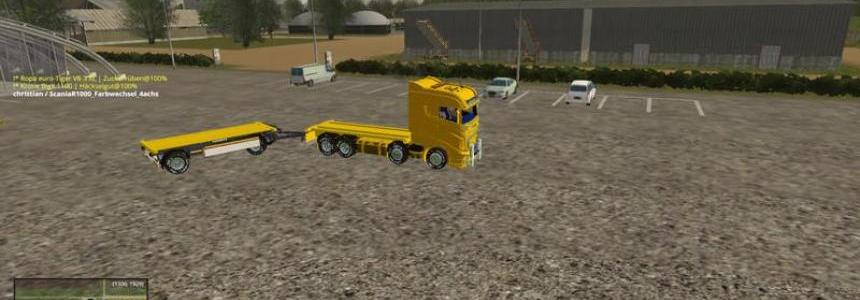 Scania R1000 4 axle members v1.0 Beta