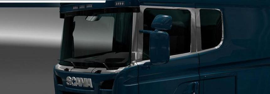 Scania RJL Side windows – By Capital